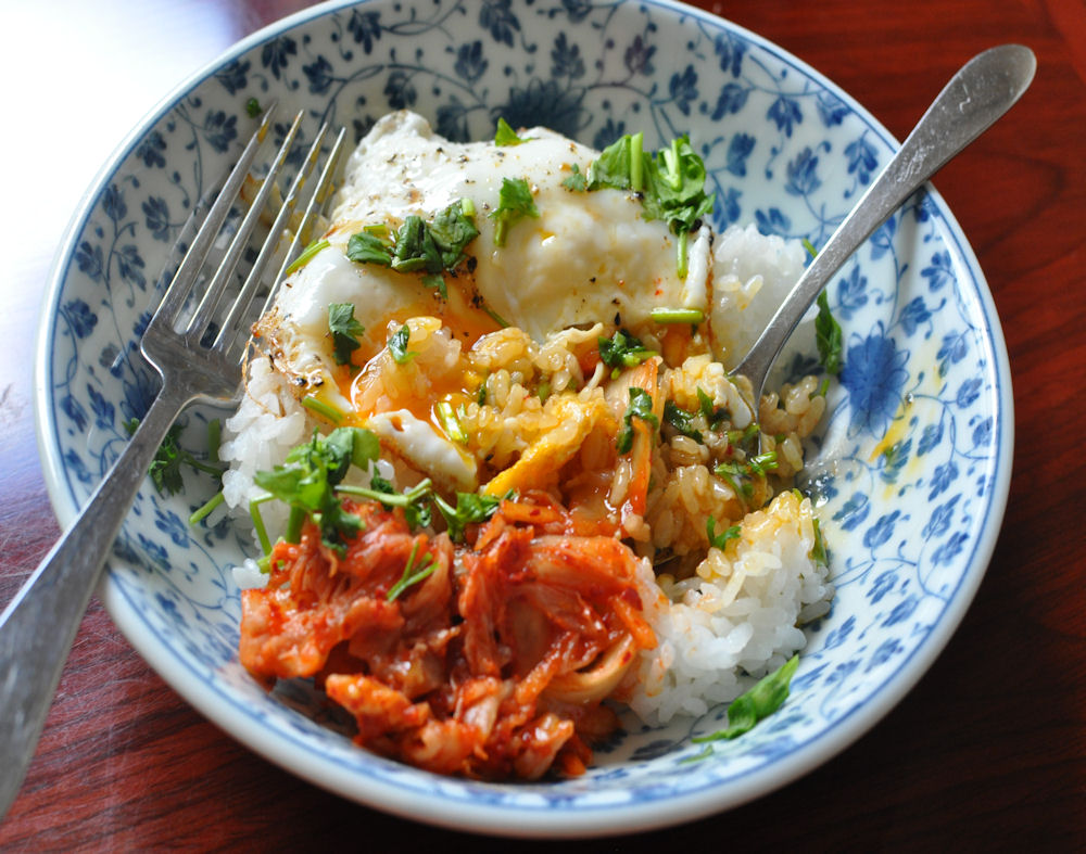 Kim_chee_egg_and_rice_mixed
